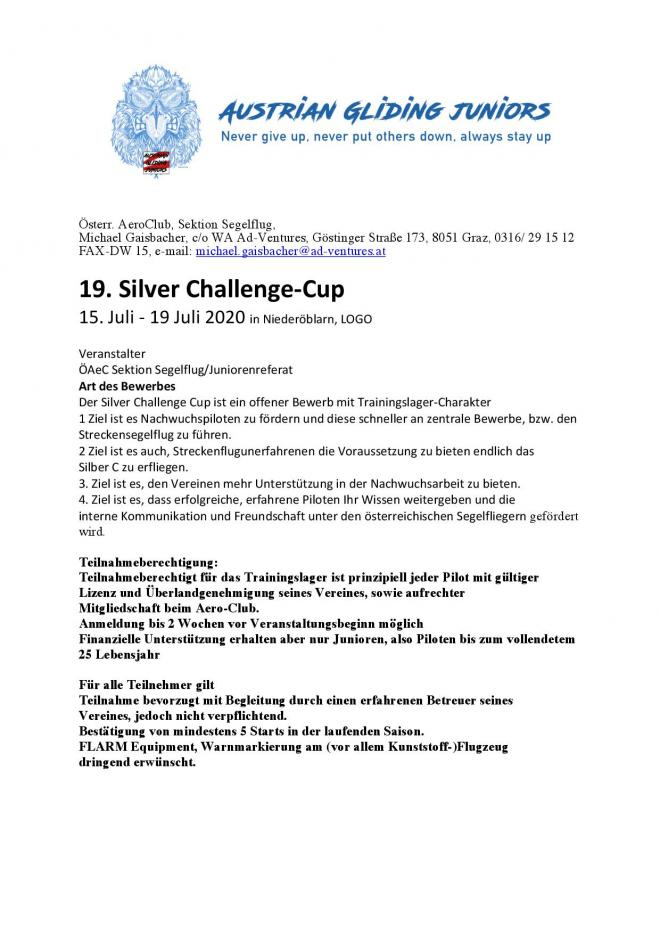 Silver Challenge